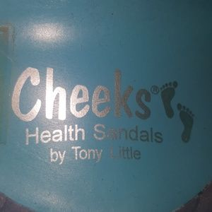 Tony Little Cheeks Shoes - Cheeks by Tony Little Flip Flops- With Dust Bag